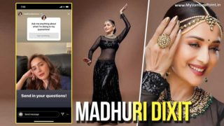 Madhuri Dixit-Nene opens up about her favorite dance partner in an Ask Me Anything segment!