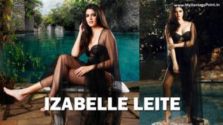 Izabelle Leite goes sultry for Sharat Chandra's photoshoot