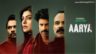 Hotstar Specials launches its latest series Aarya starring Sushmita Sen; a powerful story of crime, family and survival