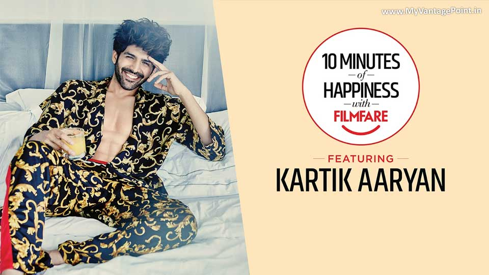 Kartik Aaryan talks about his ideal dating partner in the latest episode of 10 Minutes of Happiness with Filmfare