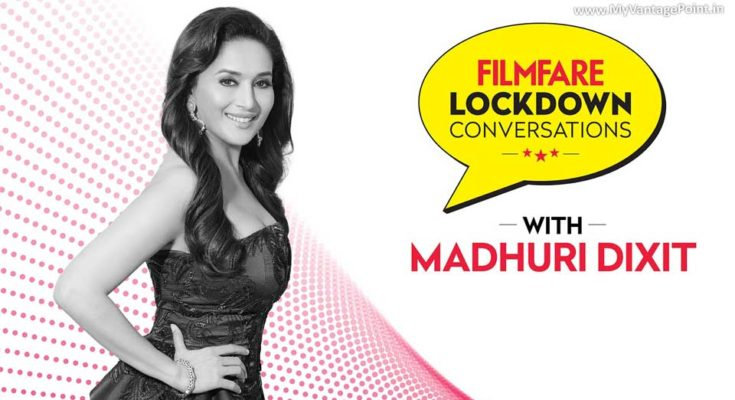 Dancing diva Madhuri Dixit-Nene reveals what went behind the making of her most iconic onscreen dances in the latest episode of Filmfare Lockdown Conversations