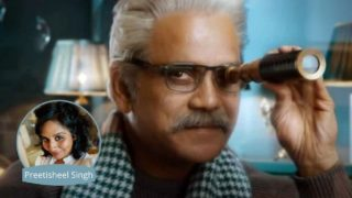 Nagarjuna Grandfather Look for Promo of Bigg Boss 4 Telugu Given by Preetisheel Singh