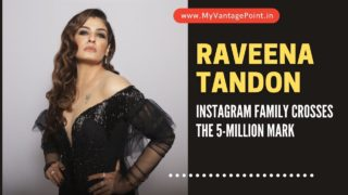 Raveena Tandon's Instagram family crosses the 5-million mark; actor thanks fans for their love