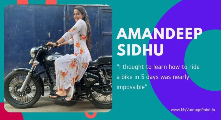 """""""I thought to learn how to ride a bike in 5 days was nearly impossible"""" says Teri Meri Ikk Jindri's Amandeep Sidhu"""