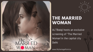 ALTBalaji 'The Married Woman'