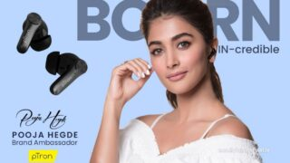 pTron Pooja Hegde is the new Brand Ambassador of the Audio Accessories brand